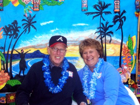 Jim Warner and Sue Pennala