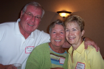 Keith, Andy Peterson and Ginny Vikre