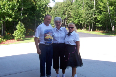 Bill, Betty and Marilyn Kosola
