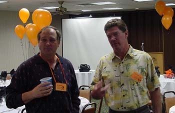 Bill Nix and Tom Hanna
