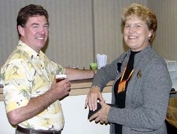 Tom Hanna and Sue Pennala
