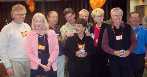 Lauren Lampi, Linda Sherman, Bill Nix, Tom Hanna, Mary Desnoyers, Tom Hogan, JoAnn Samsal, Jim Warner & Jack Laundenbach