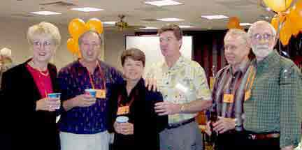 JoAnn Samsal, Bill Nix, Mary Desnoyers, Tom Hanna, Tom Hogan, Doug Schroeder
