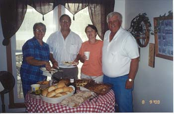 Alice Arseneau, Jim Beier, Sally & Roger Dahl