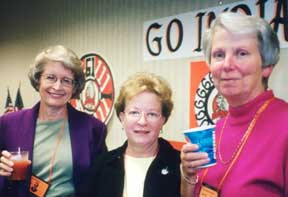 At the Banquet, Pat Fideldy, Lynn Stuneck, Mary Brown