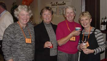 Kathy King, Andy Peterson, Mary Brown, Jane Murphy