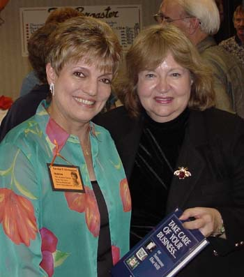 Carolyn Christensen and Sally Fuller