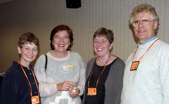 Sharon Kauppi, Kathy Lampi, Ann Costello and Lauren Lampi