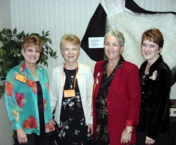Carolyn Christensen, Karen Kekkonen, Alice Arseneau and Shirley Williams