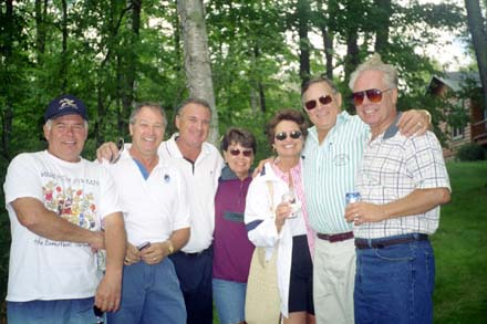 Gary Monson, Bill Nix, John Yurkovich, Mary Desnoyers, Sandi Cunningham, Jim Beier and Tom Hogan