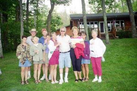 Wanda Ulseth, Russ Richards, Jane Murphy, Chuck Rund, Sharon Kauppi, Dianne Preston, Jim Warner, Sue Pennala, Mary Desnoyers and Alice Arseneau