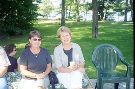 Mary Desnoyers and Sue Pennala
