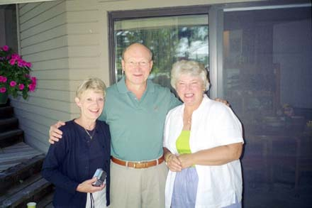 'Jane Murphy, Chuck Rund and Katherine King