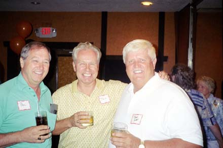 Bill Nix, Tom Hogan, Roger Dahl