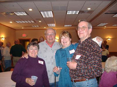 Joanne DeBellis, Phil Janicke, Beverly and Ray Eaton