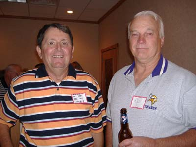 Chuck Dudley, Ron Tomberlin