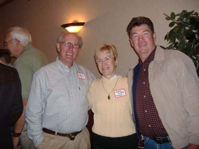 Jim Warner, Ginny Vikre, Tom Hanna