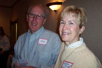 Jim Warner and Ginny Vikre