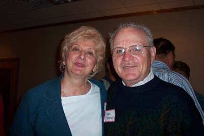 Kathy Streetar and Norm Mattson