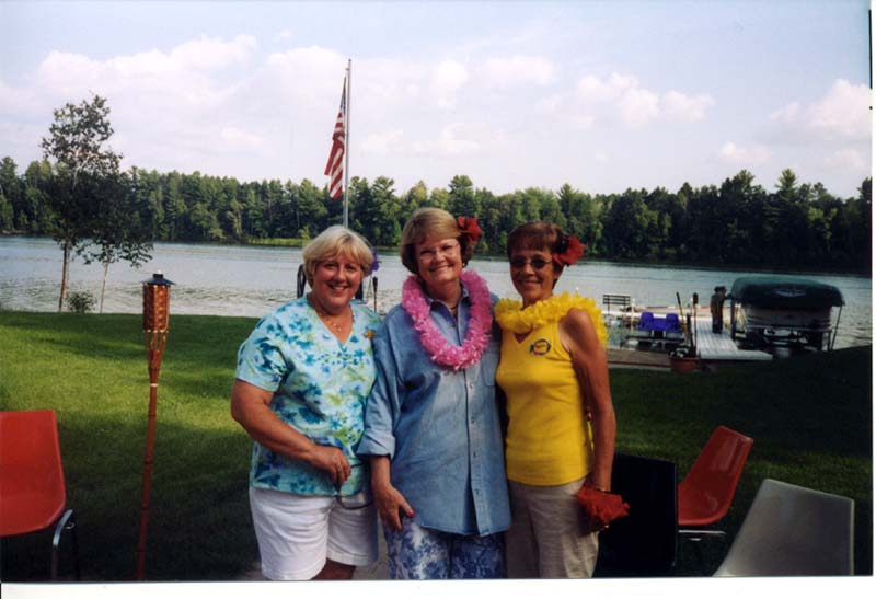 The Cohasset Girls, Ruth, Janet and Myrna