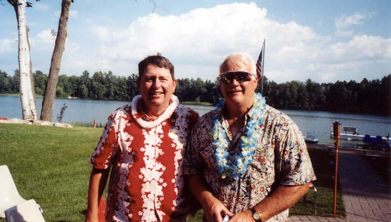 Chuck Dudley and Ron Tomberlin
