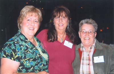 Ruth Jellison, Sharon Harthan and Shirley Barten