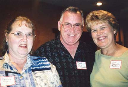 Francine Probst, Russ Richards, Sue Pennala