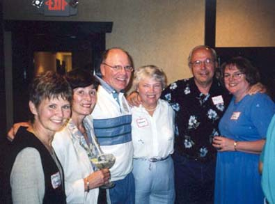 Sharon Kauppi, Carole Janicke, Charlie Bentley, Katherine King, Phil Janicke, Barb Bentley