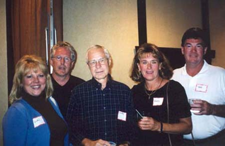Vicki Hanna, Jim Warner, Denny Hagelee, Nancy Peluso, Tom Hanna