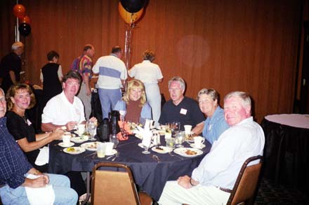Denny Hagelee,Nancy Peluso, Tom Hanna, Vicki Hanna (no relation to Tom) Jim Warner, Andy & Keith Tok