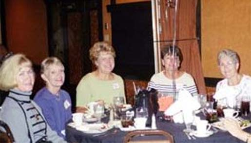 Ginny Vikre, Jane Murphy, Sue Pennala, Mary Desnoyers, Alice Arseneau